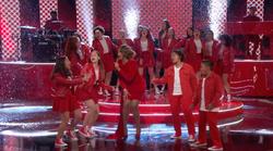 MUSYCA sings on NBC's The Voice Jennifer Hudson