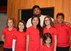 MUSYCA singers record with DJMustard