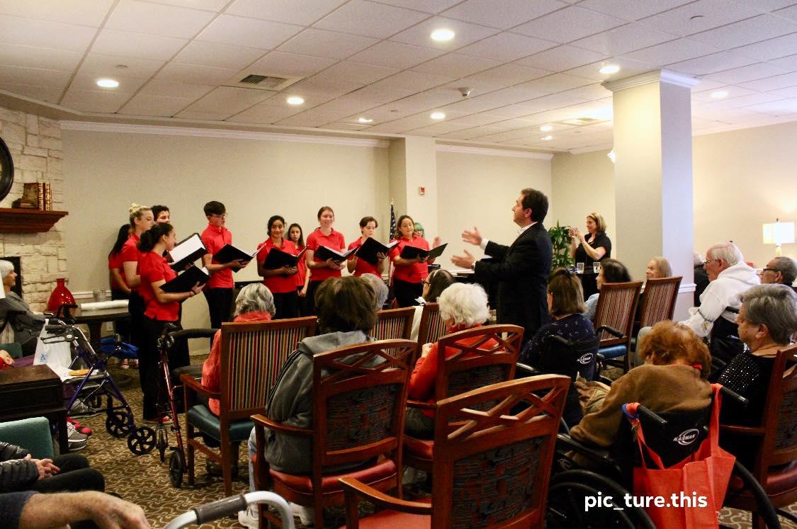 MUSYCA performs at Belmont Village Senio