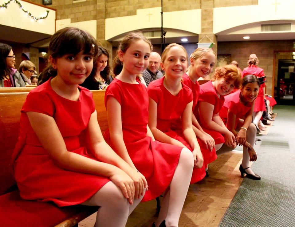 MUSYCA singers at Burbank Chorale concert December 2 2017