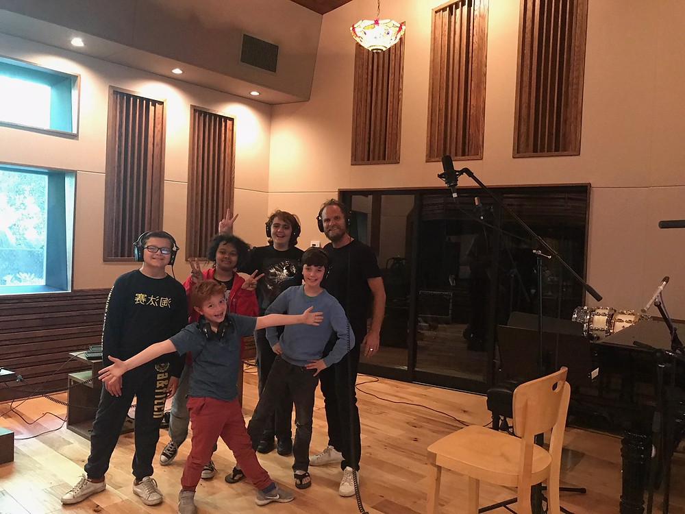 MUSYCA Children's Choir with film composer Danny Bensi