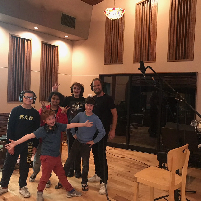 MUSYCA Boys' Choir records with Danny Be