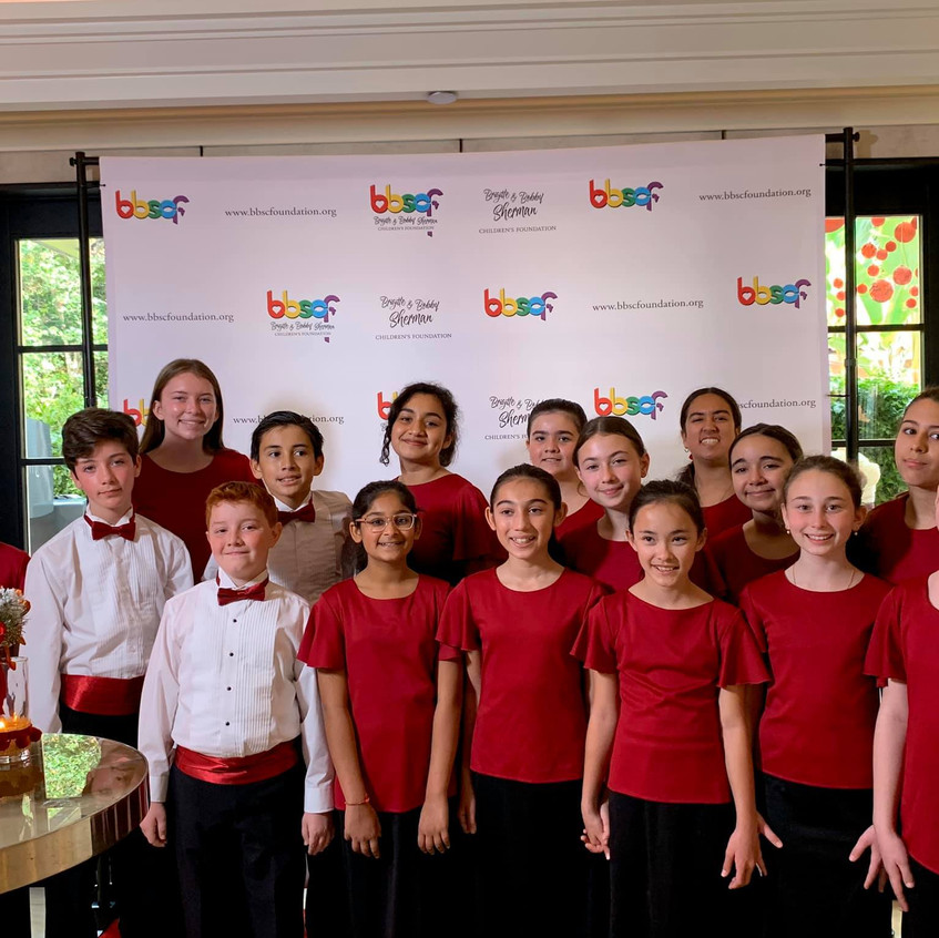 MUSYCA Children's Choir, BBSCF Gala, 201