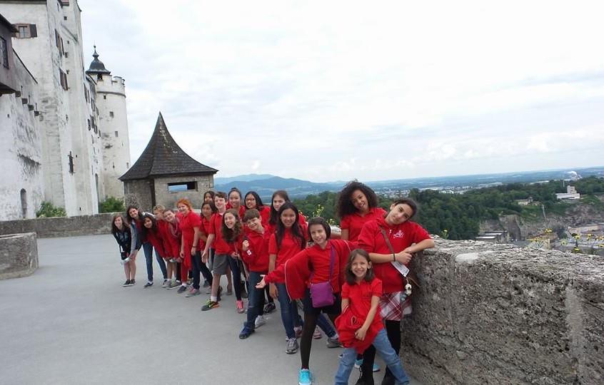 MUSYCA+Childrens+Choir+in+Salzburg+Castle