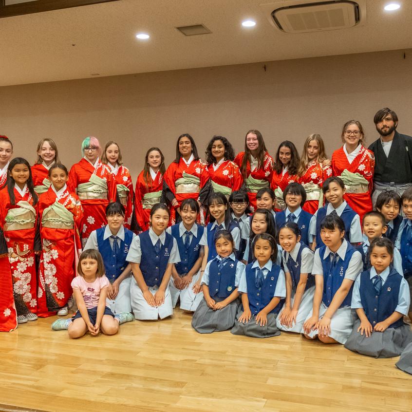 MUSYCA and Odawara Children's Choir