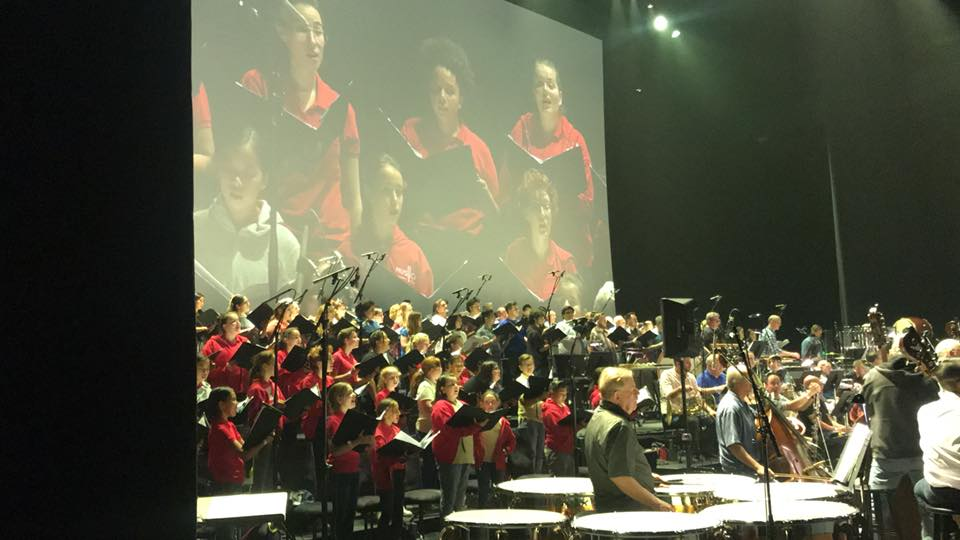 MUSYCA sings at Microsoft Theater