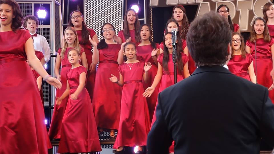 Musyca+Childrens+Choir+performs+at+Disneyland
