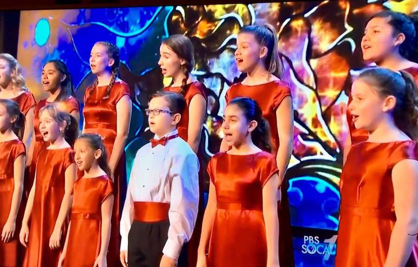 MUSYCA Children's Choir on TV
