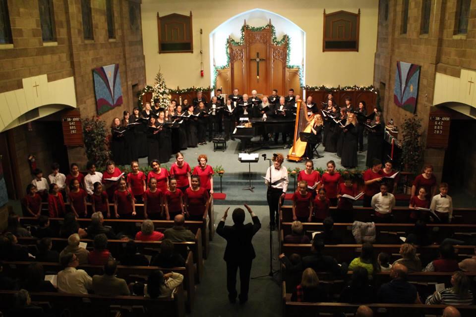 MUSYCA sings with Burbank Chorale Decemb