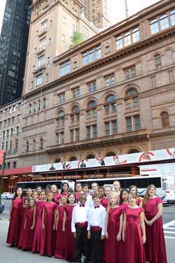MUSYCA Children at Carnegie Hall