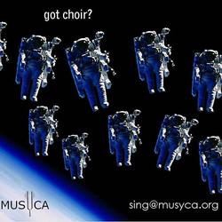 Got Choir? #space #choral #aud