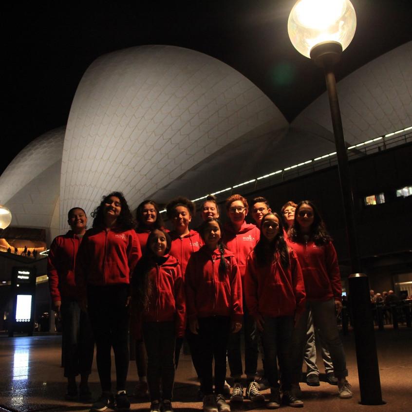 The Children's Choir in Sydney Opera