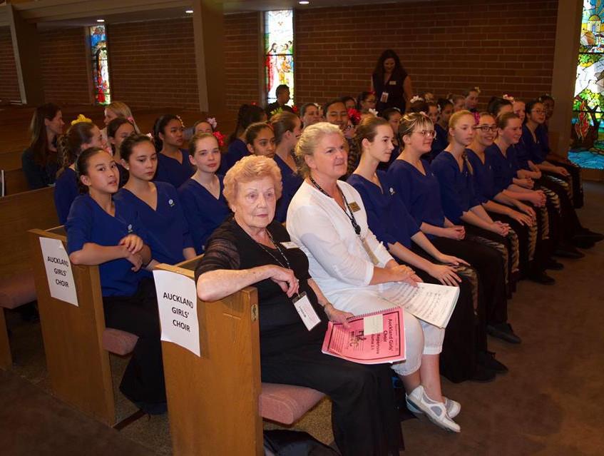 Auckland Girls' Choir in LA
