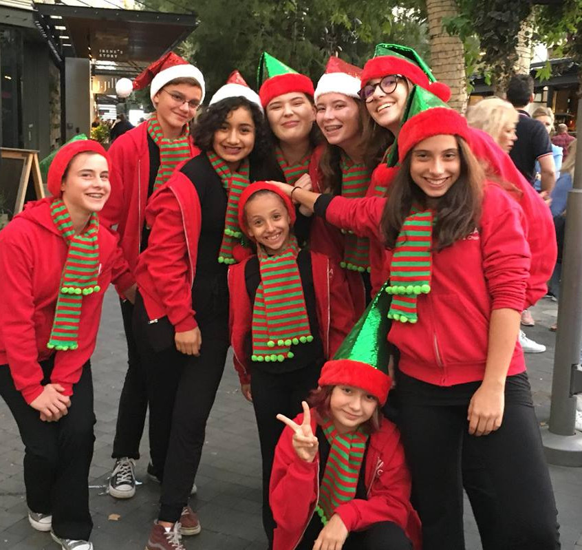 Tree Lighting _ The Village Topanga 2017