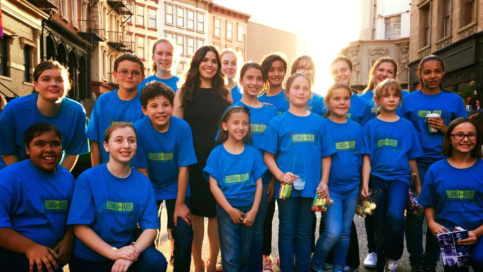 MUSYCA with America Ferrera at Fox Studios, Stand for Kids Gala