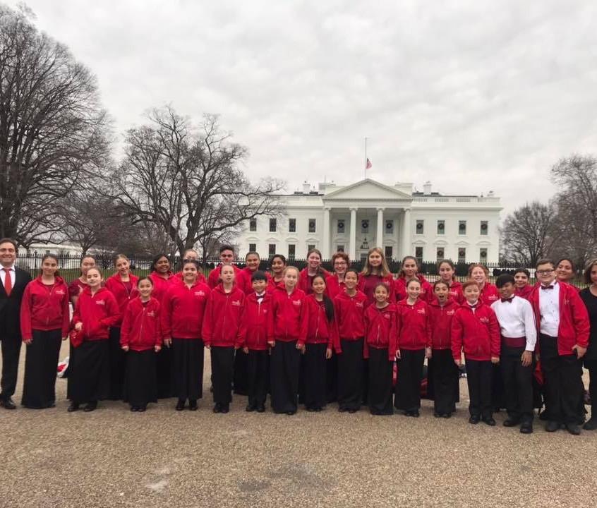Children's Choir at the White House