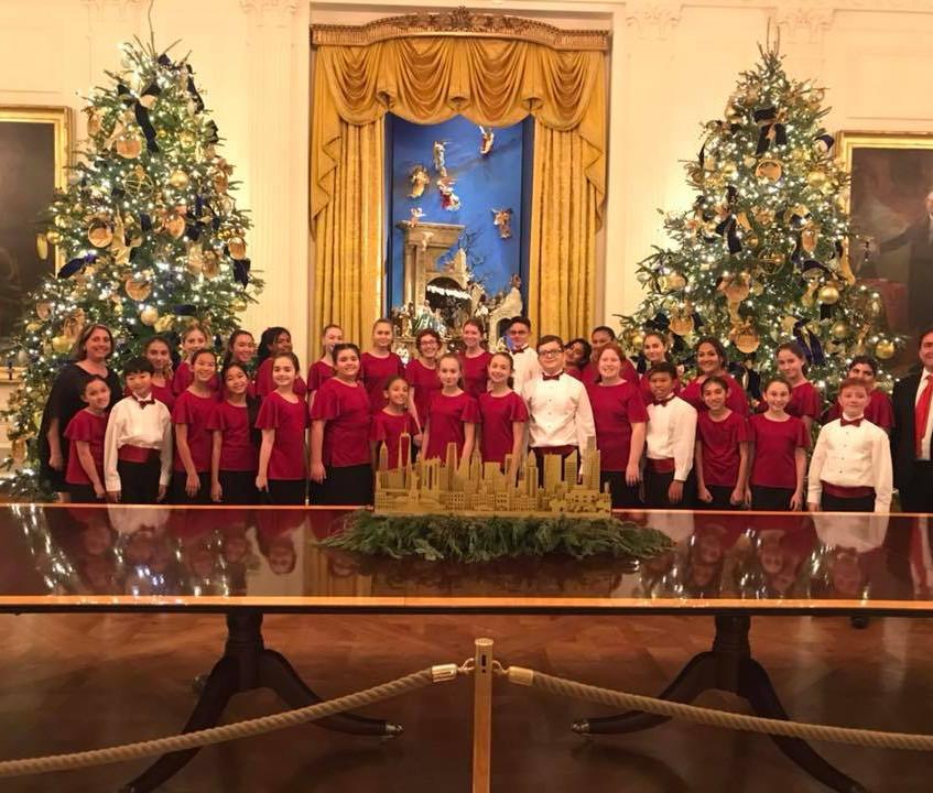 MUSYCA Children's Choir at the White Hou