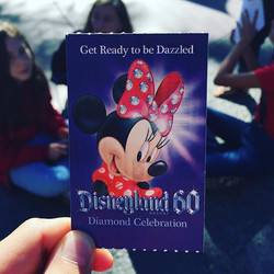 Yay Disneyland! Here we come!