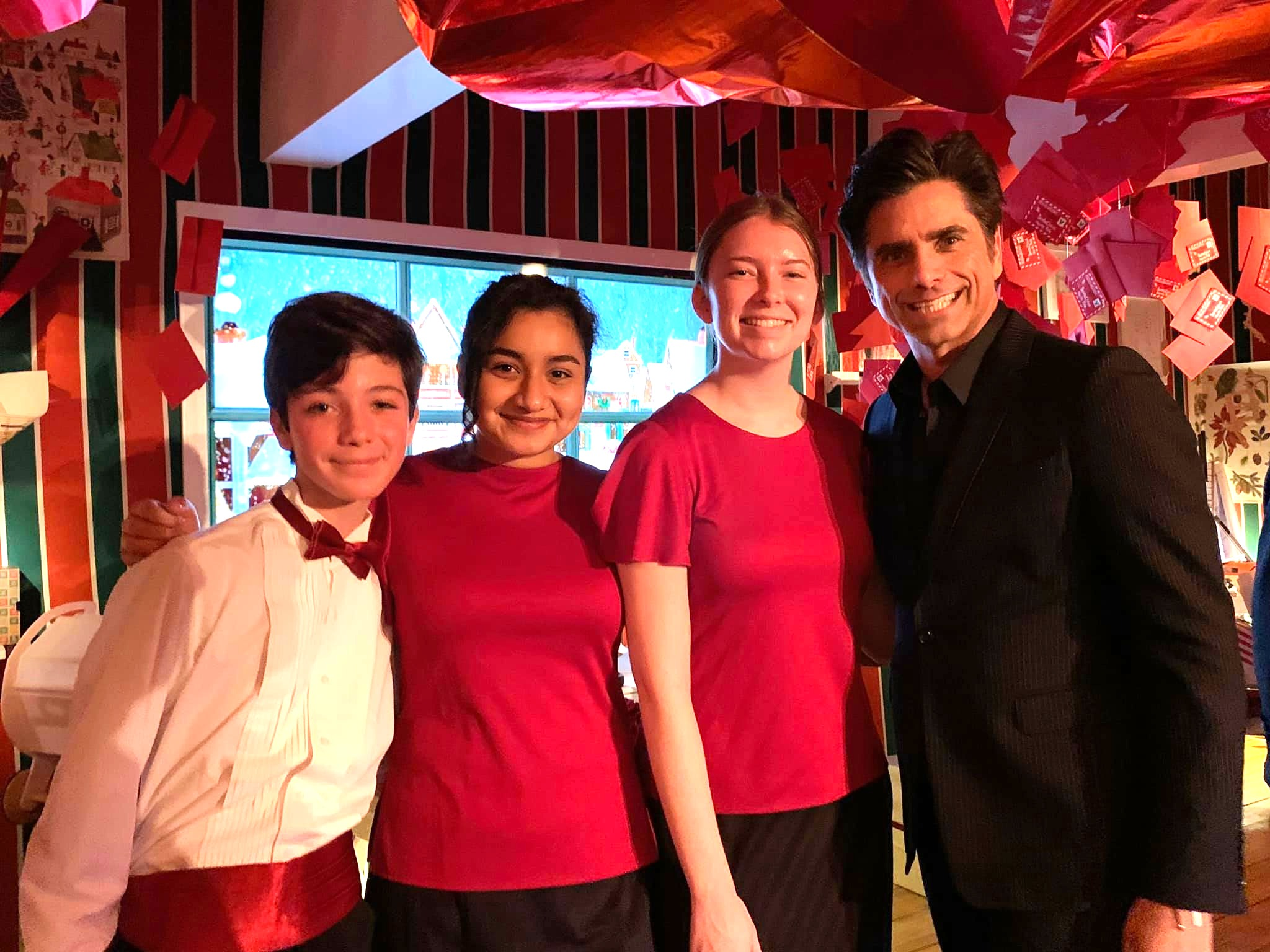 MUSYCA singers with John Stamos