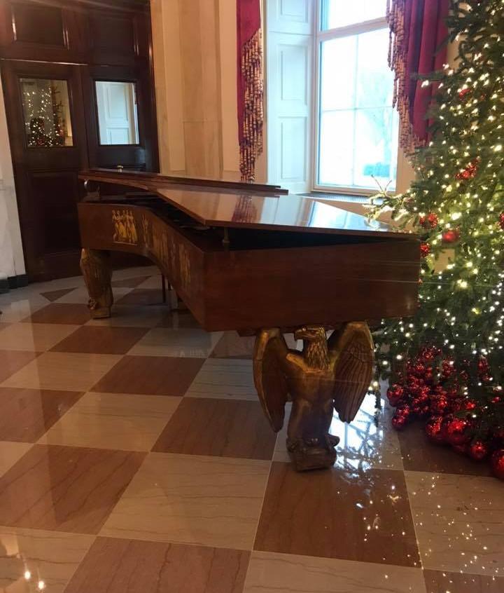 The White House piano