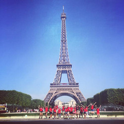 The Singing Kids at the Eiffel Tower