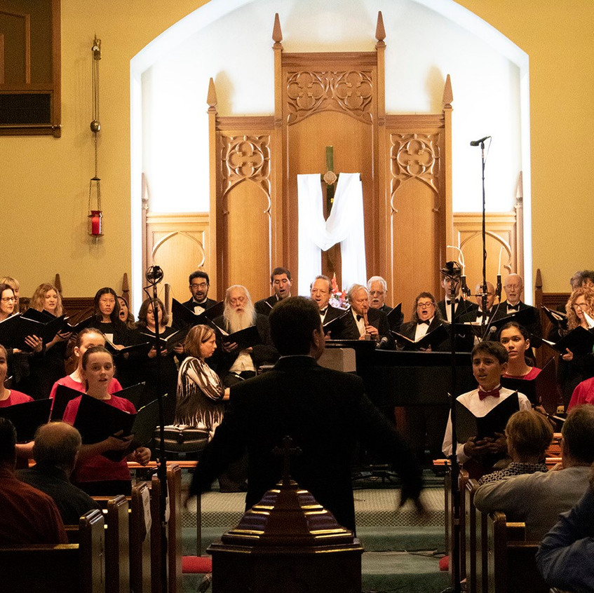 MUSYCA sings with Burbank Chorale