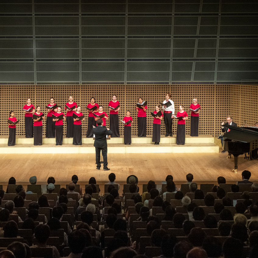 MUSYCA sings at Kyoto Concert Hall (2)