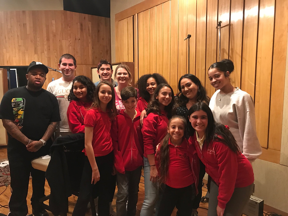 MUSYCA Singers with DJ Mustard and Ella Mai