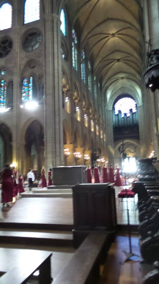 MUSYCA at Notre Dame de Paris
