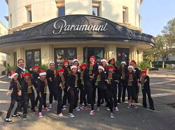 Christmas Carolers at Paramount