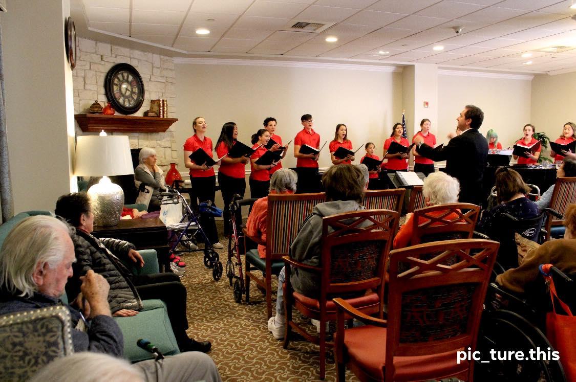 MUSYCA performance, Belmont Village Seni