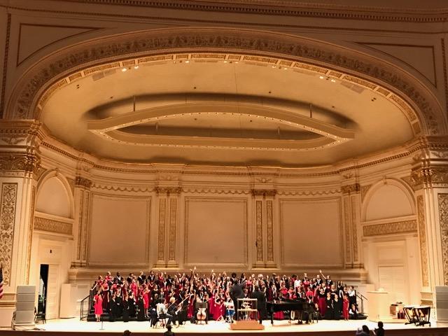Carnegie Hall Performance, 2017 MUSYCA