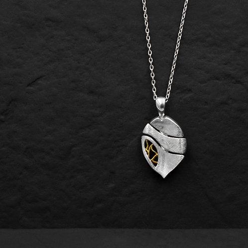 Gümüş Kolye - Defne Yaprak - Yaprak Kolye
