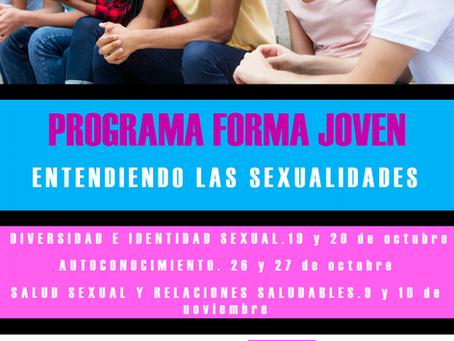 Talleres de educación sexual integral.