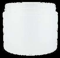 2 oz. Double Wall Natural Jar