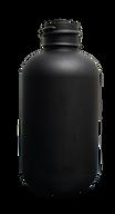 4 oz. Black Boston Round Bottle