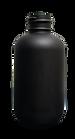 2 oz. Black Boston Round Bottle