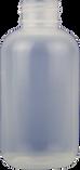 4 oz. Natural Boston Round Bottle