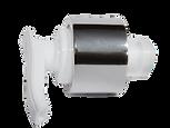 Chrome Silver Pump