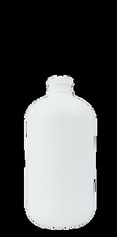 8.5 oz. White Boston Round Bottle
