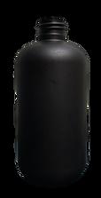 8.5 oz. Black Boston Round Bottle