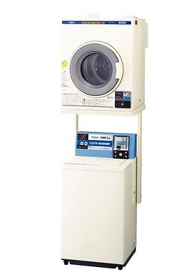 "Electric dryer ""MCD-CK45"" + unit ""HDS-CL6"" + aqua coin type washing machine ""MCW-C50A"""