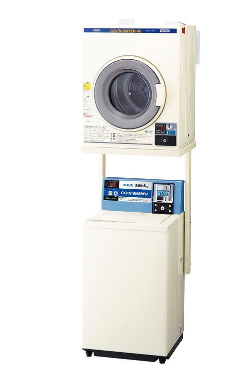 電気乾燥機「MCD-CK45」+ユニット「HDS-CL6」+アクアコイン式洗濯機「MCW-C50A」