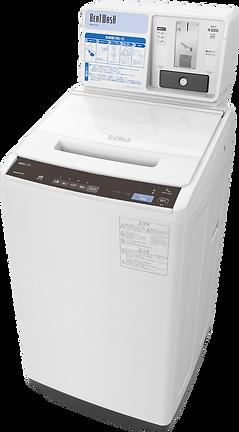 【日立製高性能コイン式洗濯機】BW-FCV70