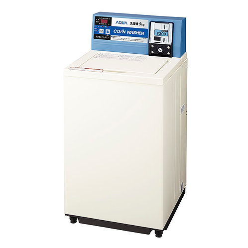 [Free shipping including tax] Small coin-type washing machine MCW-C50A (washing capacity 5.0 kg)