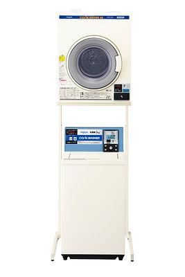 "Electric dryer ""MCD-CK45"" + unit ""HDS601"" + aqua coin type washing machine ""MCW-C50A"""