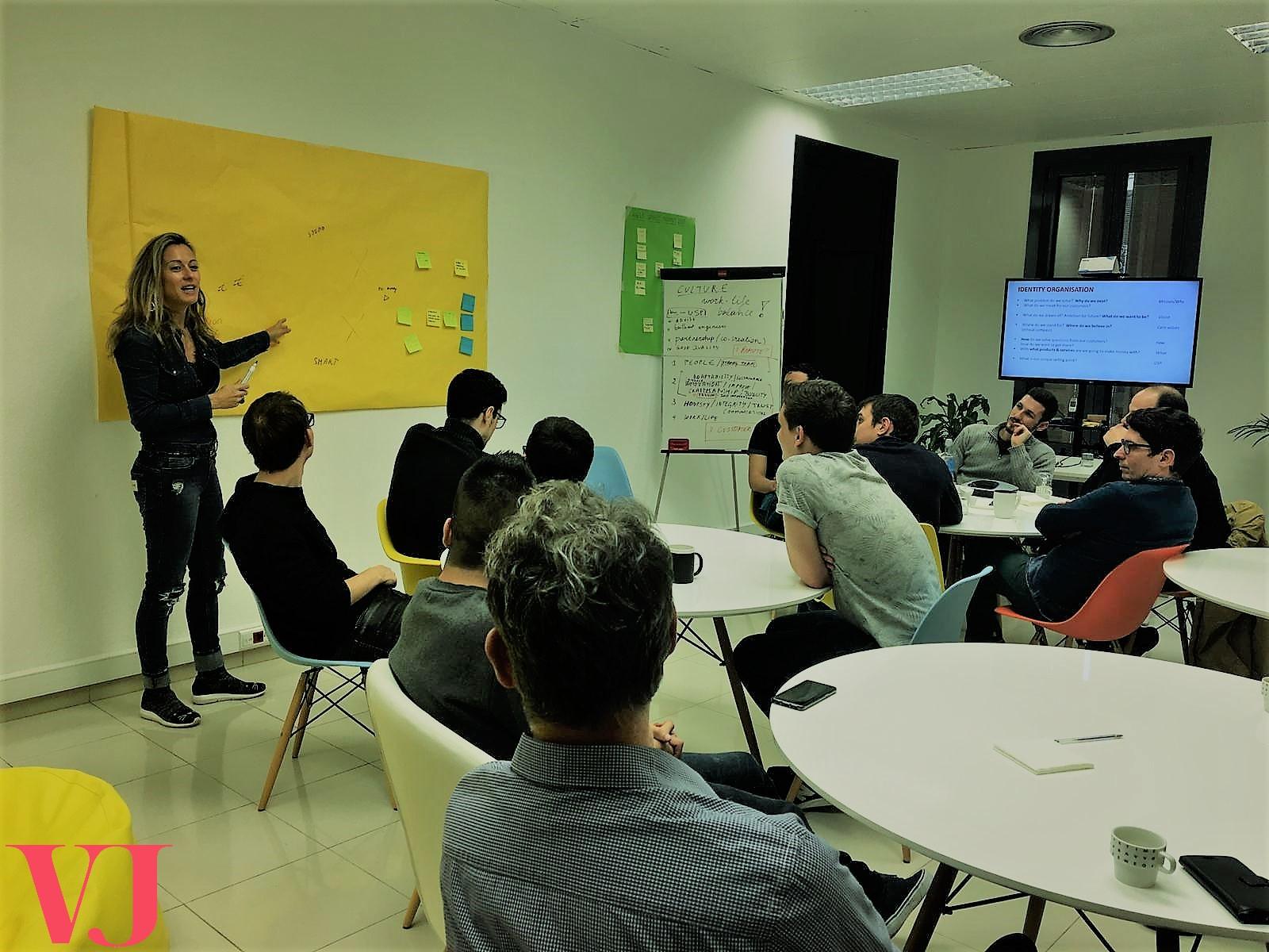 Workshop Core Values Barcelona