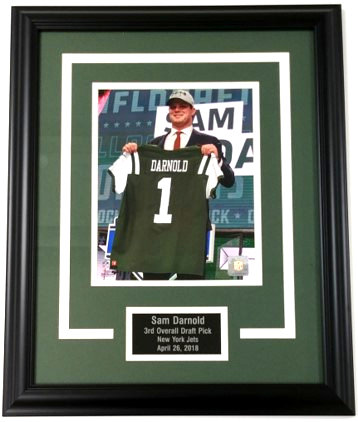 "Sam Darnold ""Draft Day"" 8x10 Photo Display"