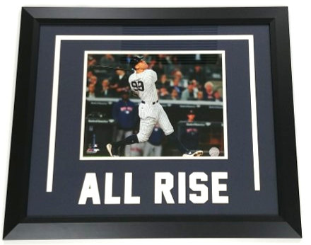 "Aaron Judge ""All Rise"" Photo Display"