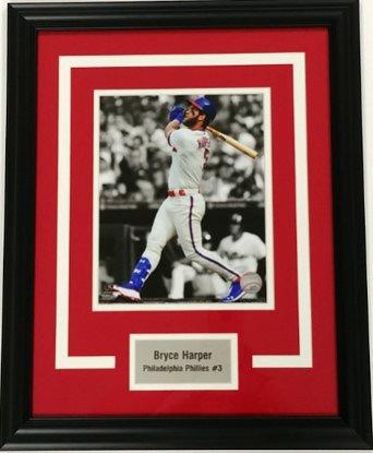 Bryce Harper Framed 8x10 Photo Display